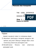 03.Step 1 Know User