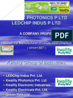 Smart Manufacturing in LED lighting  ESSC-Sept 6, 2017- LEDchip Indus