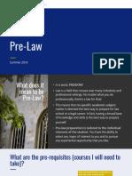 Pre-Law Advising 2018