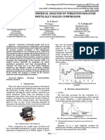 JournalNX- Analysis of Vibration Isolator