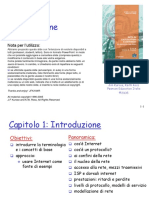 Reti Di Calcolatori e Internet - Un Approcio Top-down slide cap1