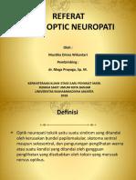 Toxic Optic Neuropathy