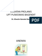 Kegiatan Prolanis Anemia