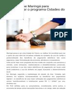 Visa escolhe Maringá para implementar o programa Cidades do Futuro   Manchete.pdf