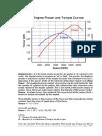 Engine Torque vs Power