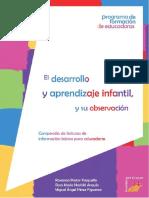 Desarrollo y Aprendizaje Infantil y Su Observacion (1)