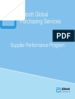 Supplier Perfomance Program