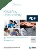 2012 Global Citizenship Report