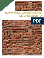 BARRERAS DE CRECIMIENTO