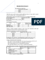 PROMOTION POLICY Notes A.doc
