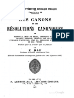 Les Canons Syriaques