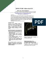 Architecture Follows Sun _ Arvind Krishan Paper