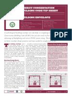 Building Envelope ECBC Tip Sheet