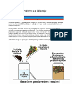 Uradi Sam Sredstvo Za Čišćenje i Za Vrt Tekuče Gnojivo