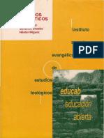 Krüger, René, Severino Croatto y Néstor Míguez. Métodos Exegéticos, Ed. Isedet-educab, Bs as, 1996