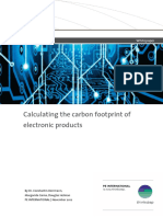 Whitepaper - Calculating the Carbon Footprint of Electronic Products
