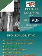 DELITOS DOLOSOS DE COMISION