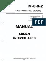 M 0 8 2 Manual Armas Individuales (1986)