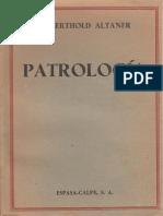 ALTANER, Berthold (1956) Patrologia, ESPASA-CALPE, S.A, Madrid.pdf
