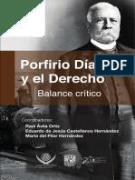 Porfirio Dias y El Derecho_Balance Critico