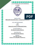 Informe Lectura (6) Hidrografia Marina.