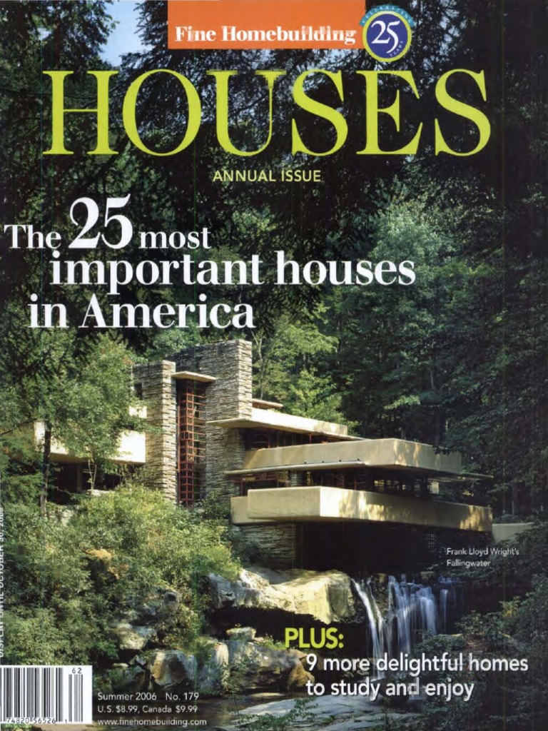 2006 Fine Homebuilding-Houses (Summer).pdf | Business | Nature Cabinet Designs Home Liry on