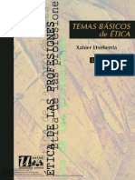 Temas Basicos de Etica Etxeberria