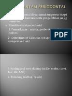 Instrumentasi Periodontal New
