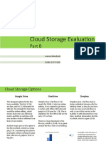 cloud storage evaluation part b