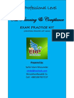 Draft Exam Practice Kit for CA Professional Level Tax Planning & Compliance Covering Finance Act 2018