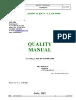 Quality Manual Club 9000 En