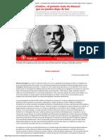 «Nuestros Magistrados», El Potente Texto de Manuel González Prada Que No Puedes Dejar de Leer _ Legis.pe