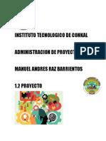 1.2 Proyecto