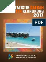 Statistik Daerah Kabupaten Klungkung 2017