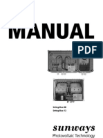 Sunways AC String-Box Manual GB 08-09
