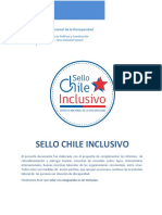 Documento Complementario Inclusión Laboral Sello Chile Inclusivo 2017