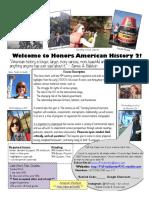 honors american history ii syllabus f18