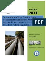 Compendium Pipeline Safety Requirement - NAPSR