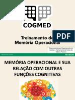 Apresentação Memória Operacional e Funções Cognitivas