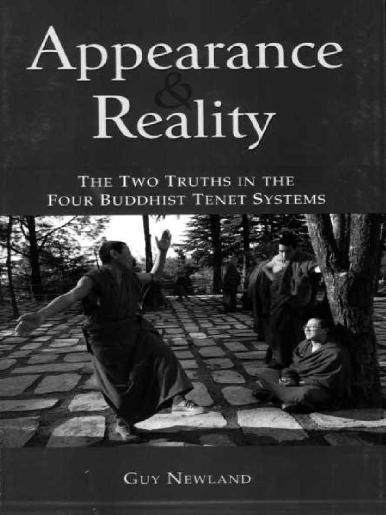 Newland Guy Appearance And Reality Buddhist Philosophy Tibetan Buddhism
