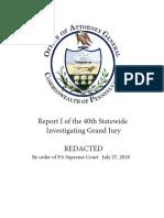 Pennsylvania Attorney General Grand Jury Report