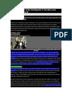 KotOR II Designer Diary #2.doc