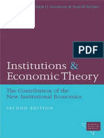(Economics, Cognition, and Society) Eirik G. Furubotn, Rudolf Richter-Institutions and Economic Theory_ The Contribution of the New Institutional Economics (Economics, Cognition, and Society)-Universi.pdf