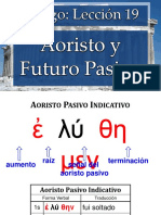 4731107 Leccion 19 Aoristo y Futuro Pasivo