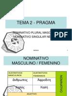 144011 Tema 2 Nominativo Masculino Femenino