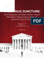 An Evaluation of Public-Sector Union Members' Responses to the U.S. Supreme Court Janus Ruling