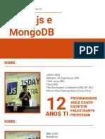 Curso de Node.js e MongoDB - 01