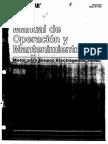 Manual de Generador Caterpillar Modelo 3406
