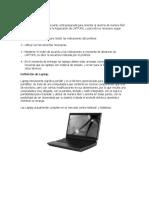 Definición de Laptop