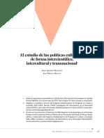 2016 Brizuela Barros - El Estudio de Las Politicas Culturales PCR
